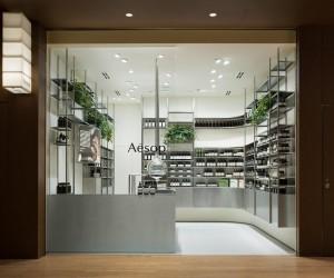 Aesop Tokyo Midtown by Torafu Architects
