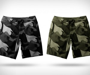 Aether Camo Boardshorts