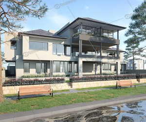 Affordable 3D Architectural rendering services