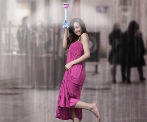 Air Umbrella: Use Air To Stay Dry