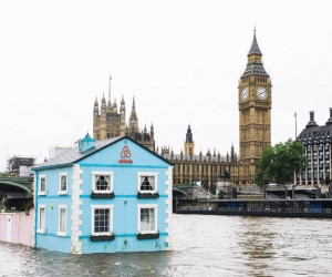 Airbnbs Floating House on Londons River Thames
