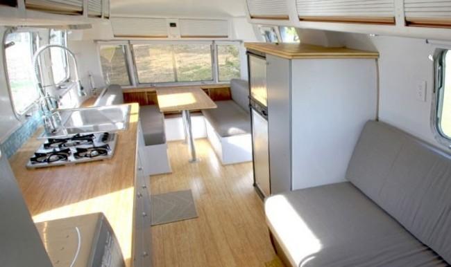 Airstream trailer by hofarc for A l interieur trailer