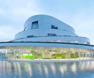 Akiha Ward Cultural Center by Chiaki Arai Urban  Architecture Design