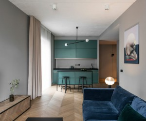 AKTA Interior Design Firm Designs an Elegant Apartment in Vilnius, Lithuania