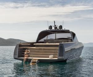 Alen 68-foot motor yacht by Foster  Partners