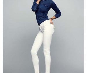 Alessandra Ambrosio Stars in Replay Denim Hyperflex