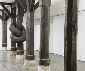 Alex Chinneck Ties 450-year-old Column Into A Knot