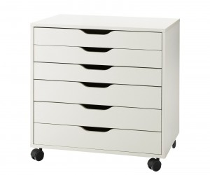 ALEX Drawer unit on casters by Asshoff  Brogrd Designstudio for IKEA