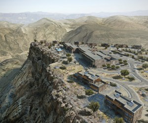 Alila Jabal Akhdar Cliff Hotel in Oman