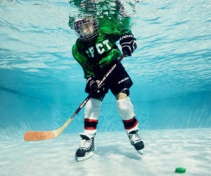 Alix Martinez Captures Stunning Underwater Photos of Childrens Playing Sports