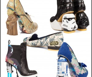 All 14 Pairs of Star Wars Shoes by Irregular Choice