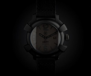 All Black Automatic Watch by UNITY Watches