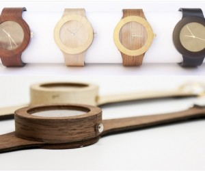 All Natural Wood Watch With Soft Strap