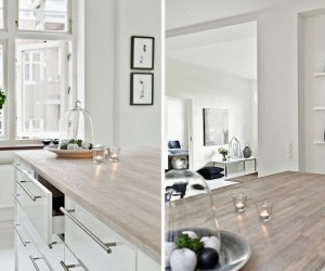 All White Apartment in Malm