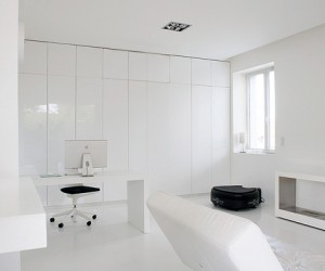 All White Loft in South Paris