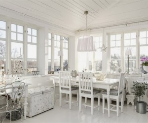All White Scandinavian home