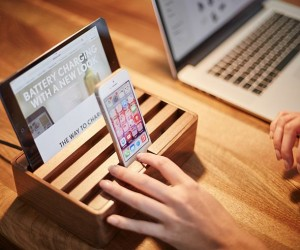 Alldock: A Stylish Charging Dock For All Devices