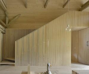 Alpine Barn Conversion by Ofis arhitekti