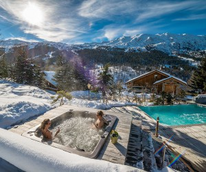 Alpine Extravagance: A Look Inside One of Frances Best Luxury Ski Chalet