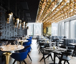 Alto Restaurant Hong Kong by Tom Dixon