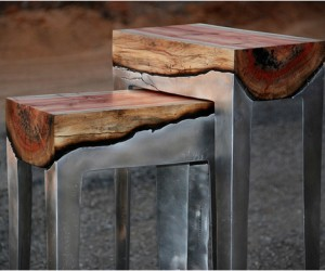 Aluminum  Wood Furniture | by Hilla Shamia