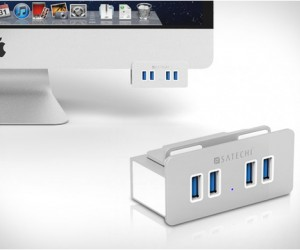 Aluminum Clamp USB Hub | by Satechi