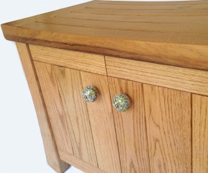 Aly, recycled wine fermentation tanks cabinet-bench