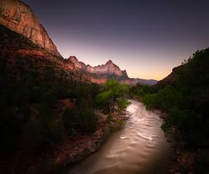 Amazing landscape of Zion National Park by Scott Book