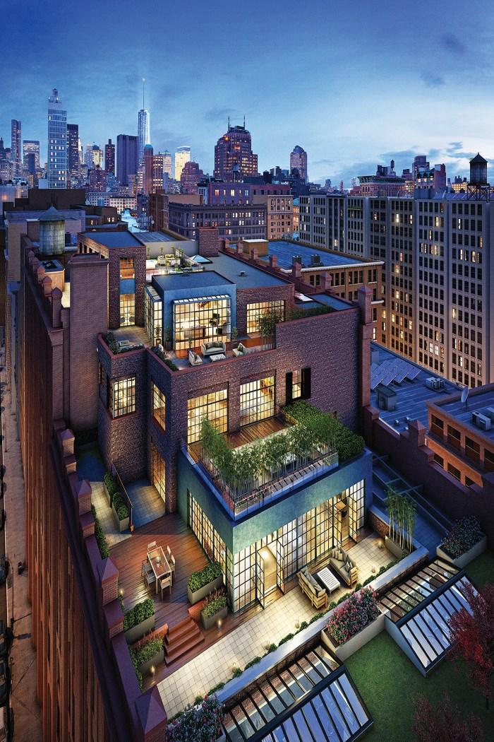 Amazing Penthouse Offering Unbelievable Manhattan Skyline