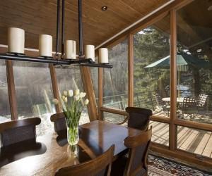 Amazing riverside house in Colorado