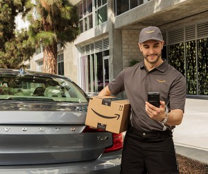 Amazon Teams Up With Volvo To Offer In-car Deliveries