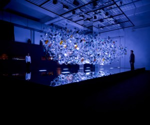 Amorphous Installation by AGC Asahi Glass