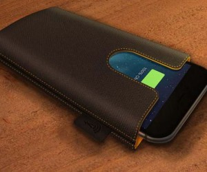 Ampere: Wireless Smartphone Charging Sleeve