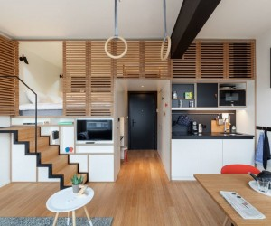 Amsterdam Apartment Designed to Live and Work: Zoku Loft