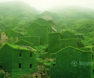 An Abandoned Fishing Village on Shengshan Island, China
