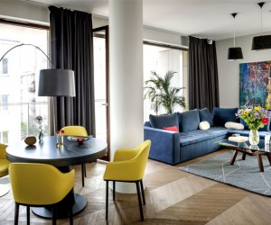 An Apartment by Anna Koszela and Maria Widelak