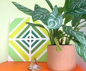 An Easy DIY Painting with Retro Style