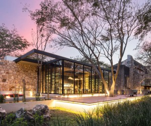 An Old Textile Factory Turned Into a Fantastic Restaurant in Mexico