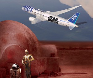 ANA and Star Wars Debut The Official R2-D2 Jet