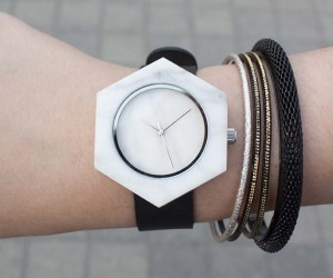 Analog Watch Timepiece Collection Made Out Of Marble