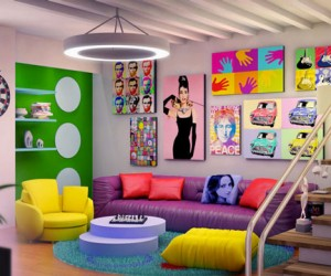 Andy Warhols Pop Art Makes A Special Appearance Indoors