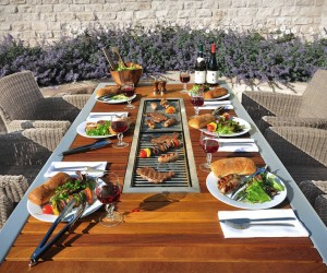 Diy Outdoor Kitchen With Traeger