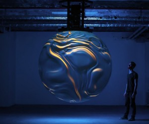 Anima sculptural installation by Onformative