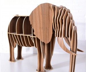 Animal Shaped Bookcases, Desks and End Tables