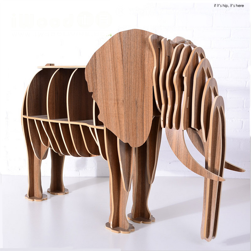 Animal Shaped Bookcases Desks And End Tables