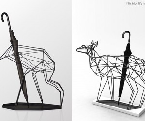 Animal Umbrella Stands by Libert Design Studio