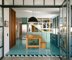 Animated by ideas: bold apartment design in Athens, Greece