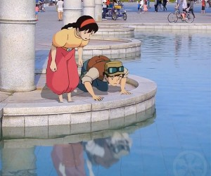 Animated Studio Ghibli Characters In The Real World