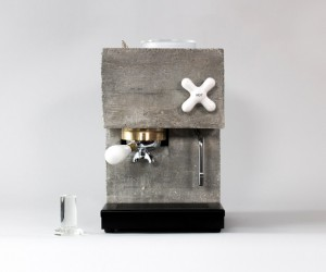 AnZa Espresso Machine by Studio Montaag