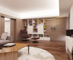 Apartament P35 in Buchares by Atelier and JDI
